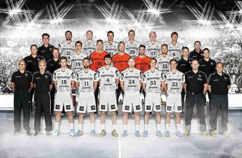 THW Kiel 2014/2015 - Foto: DKB-Handball-Bundesliga