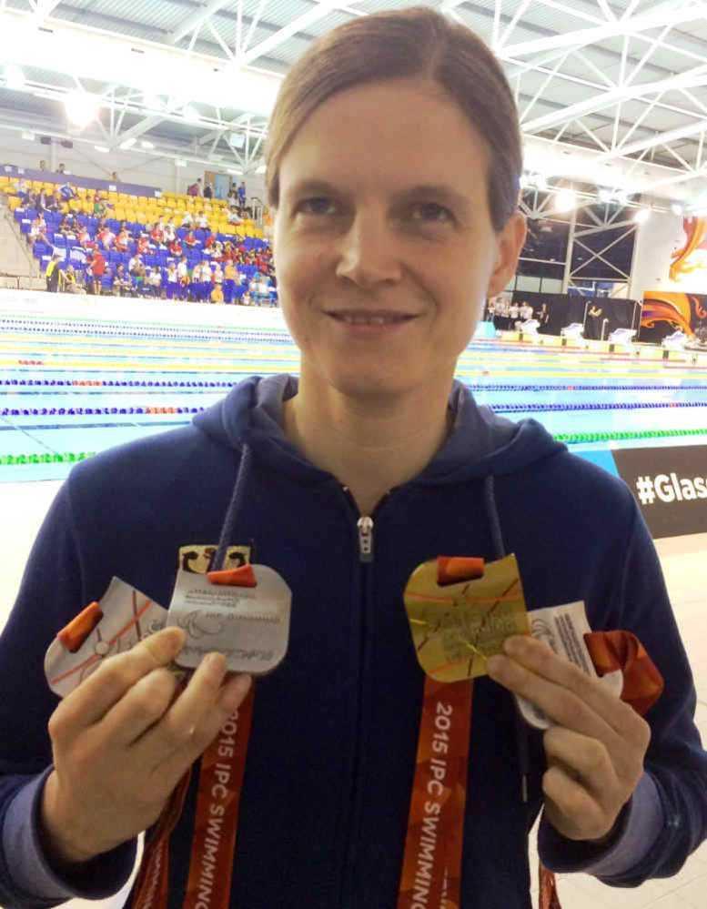 IPC Schwimm-WM 2015: Elf WM-Medaillen und Rio in Gedanken - Daniela Schulte - Foto: Bernhard von Welck (DBS)
