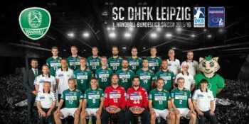SC DHfK Leipzig - Saison 2015/16 - Foto: Rainer Justen
