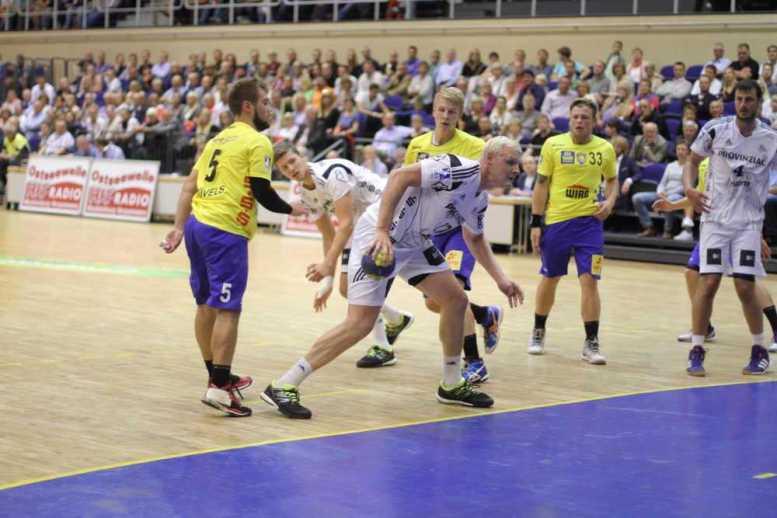 Empor Rostock akquiriert neue Sponsoren - Bild aus Empor vs. THW Kiel - Foto: HC Empor Rostock