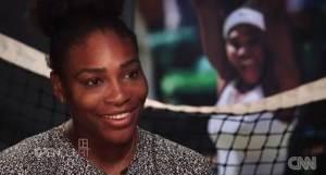 """Serena Williams im Interview - Quelle: CNN International """"Open Court"""""""
