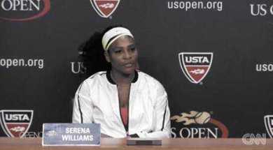 """Serena Williams - Quelle: CNN International """"Open Court"""""""