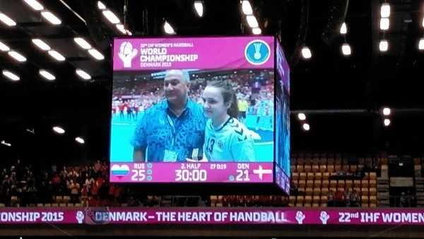 Anna Vyakhereva - Handball WM 2015 – Platz 5: Russland begeistert gegen Dänemark - Foto: SPORT4Final