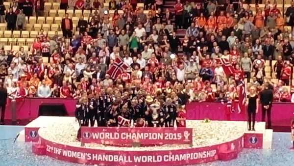 Handball WM 2015 Dänemark: Norwegen mit perfektem Match gegen Niederlande zum WM-Titel - Foto: SPORT4Final