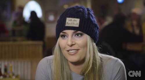 """CNN Interview: Lindsey Vonn """"Ich liebe Tiger Woods immer noch"""" - Foto: CNN Alpine Edge"""