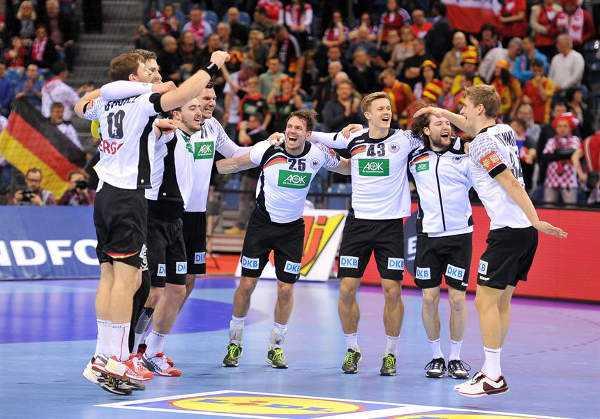 Handball EM 2016 Halbfinale: Deutschland nach Psycho-Thriller sensationell im Finale - Foto: ZPRP / EHF