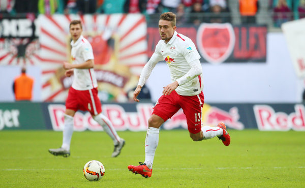 RasenBallsport Leipzig vs. Eintracht Braunschweig - Stefan Ilsanker (RB Leipzig) - Foto: GEPA pictures/Kerstin Kummer