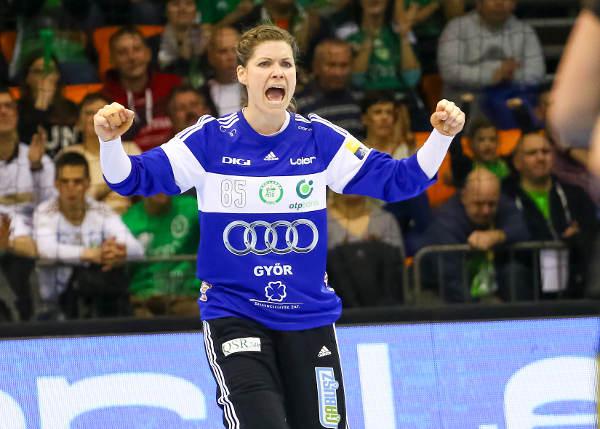 Handball Champions League: Győri Audi ETO KC bezwang Sävehof - Kari Grimsbö - Foto: Anikó Kovács und Tamás Csonka (Győri Audi ETO KC)