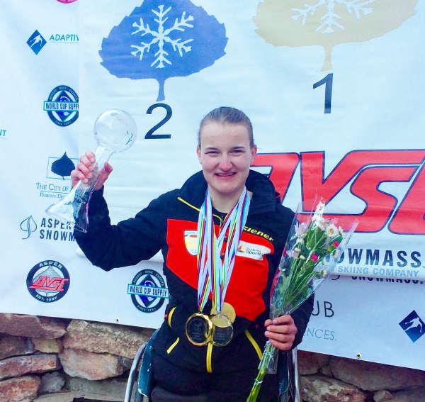 Anna-Lena Forster gewinnt den Gesamt-Weltcup - Foto: DBS