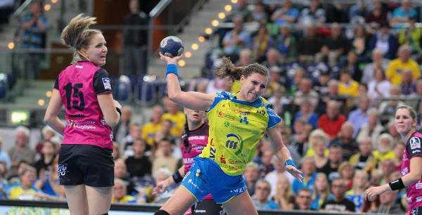 Handball EHF Champions League Qualifikation: HC Leipzig souverän gegen HC Gomel im Finale 152