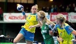 HC Leipzig bezwang Schlusslicht TV Nellingen. Saskia Lang verletzt