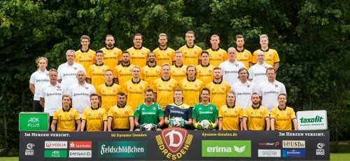 Dynamo Dresden Team 2015/2016 - Foto: Dynamo Dresden