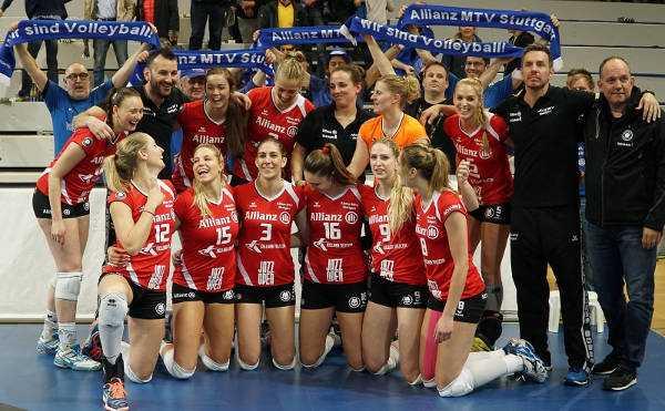 Volleyball Finale: Stuttgart qualifizierte sich in Schwerin für die Final-Playoffs - Foto: Michael Dittmer, MidiGrafie