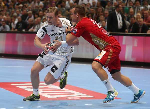 Handball Velux EHF Final4 Champions League 2015 May 30th Cologne/Germany Semi-Final - THW Kiel vs. MKB-MVM Veszprem - Foto: Joern Pollex/EHF