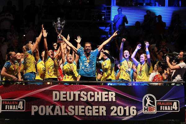 DHB-Pokal Final4: HC Leipzig - Foto-Impressionen - Foto: Sebastian Brauner