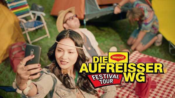 """Die """"MAGGI-Festival-Tour"""" mit der """"Aufreißer WG"""" - Sponsored Video - Foto: MAGGI"""