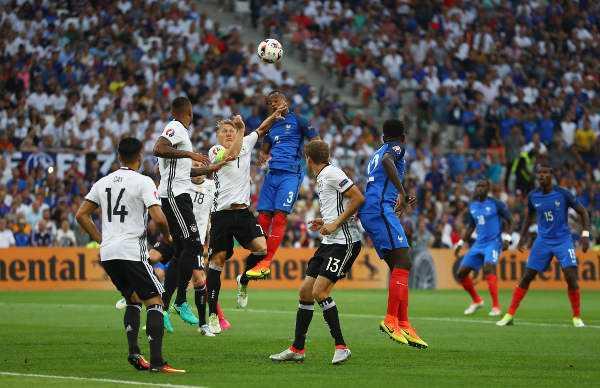 Fussball EM 2016: UEFA EURO Halbfinalspiel zwischen Deutschland und Frankreich im Stade Velodrome am 7. Juli 2016 in Marseille, Frankreich. Foto: Lars Baron / Getty Images