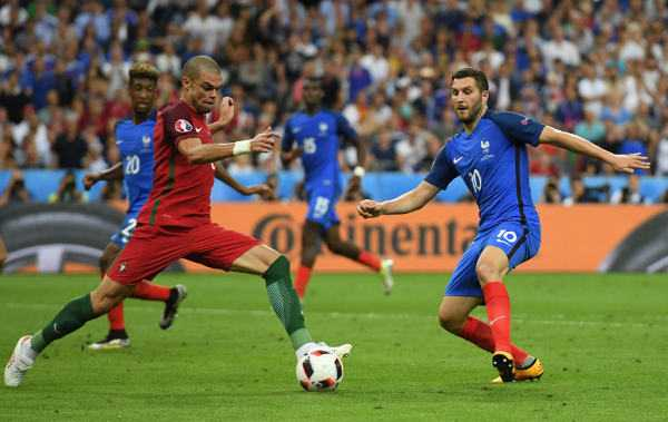 Frankreich Portugal Fussball