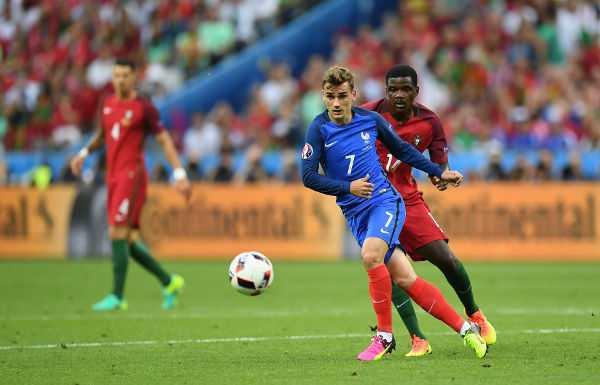 Fussball EM 2016: Antoine Griezmann MVP UEFA EURO 1