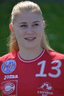 Meike Schmelzer - Thüringer HC mit zwei Siegen gegen DHK Banik Most - Foto: Thüringer HC/Hans-Joachim Steinbach