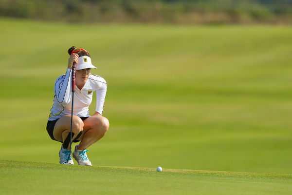 Olympia Rio 2016 Golf: Sandra Gal auf ihrer 2. Runde - Foto: IGF Golf