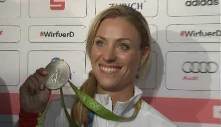 Olympia Rio 2016 Video: Angelique Kerber mit Silber 3