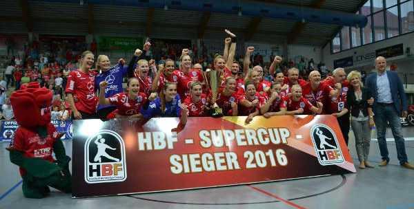 Handball Supercup: Thüringer HC mit Krimi-Sieg über HC Leipzig - Foto: Hans-Joachim Steinbach / Thüringer HC