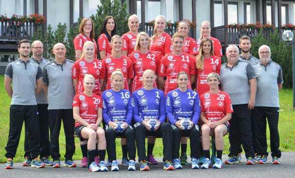 Handball: Thüringer HC - Mannschaftsfoto 2016/2017 - Foto: Thüringer HC