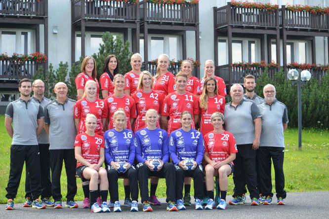 Thüringer HC - Mannschaftsfoto 2016/2017 - Foto: Thüringer HC