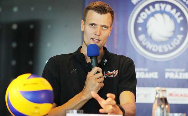 """Robert Kromm von BR Volleys: """"Gegen 'Quadrupel' hätte ich nichts"""" - Foto: Photo Wende, www.photowende.com"""