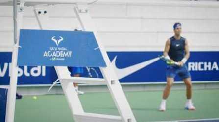"""Rafael Nadal - CNN Open Court mit """"Tennis-Matador"""" Olympiasieger Rafael Nadal - Foto: CNN International Open Court"""