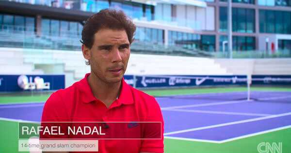 "Rafael Nadal im Video - CNN Open Court mit ""Tennis-Matador"" Olympiasieger Rafael Nadal - Foto: CNN International Open Court"