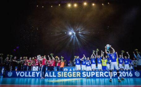 Volleyball Supercup: Stuttgart und Friedrichshafen erfolgreich - Foto: Sebastian Wells (www.sebastianwells.de)