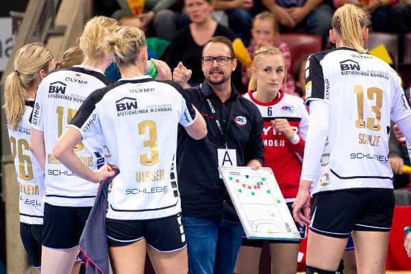 """Handball EHF-Cup: Rostov Champion. SG BBM Bietigheim-Coach Albertsen: """"Wir das bessere Team"""" 2"""