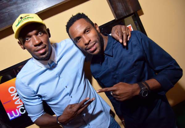 Usain Bolt und NJ Walker - Foto: BBC World News