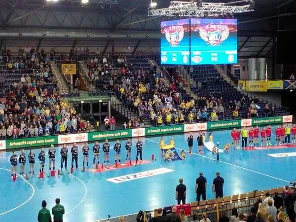 Handball Champions League: HC Leipzig bezwang kämpferisch Astrachan. Shenia Minevskaja verletzt - Foto: SPORT4FINAL