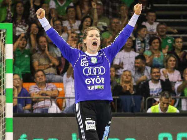 Handball Györi Audi ETO KC: Kari Alvik Grimsbö - Foto: Anikó Kovács und Tamás Csonka (Györi Audi ETO KC)