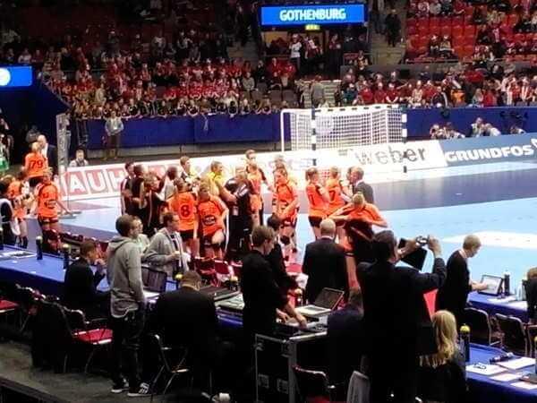 Handball EM 2016: Niederlande mit Top-Performance gegen Dänemark ins Finale / Foto> SPORT4FINAL