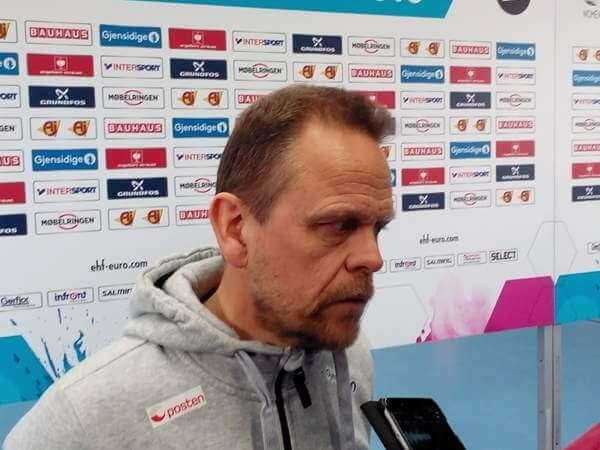 """Thorir Hergeirsson - Handball EM 2016: Norwegen-Coach Thorir Hergeirsson im Sieger-Interview """"Deutschland ist Mit-Favorit bei WM 2017"""" - Foto: SPORT4FINAL"""