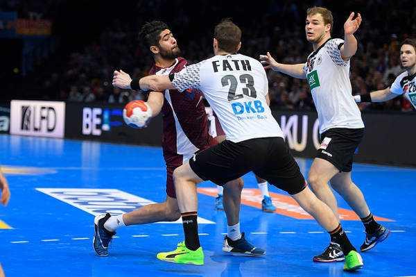 """Steffen Fäth und Paul Drux (Deutschland) - Handball WM 2017: Bob Hanning """"Mit gutem Bundestrainer in EURO und Heim-WM"""" - Foto: France Handball"""
