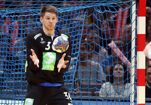 Torbjörn Bergerud Norwegen - Man of the Match) - Handball WM 2017 Halbfinale: Norwegen bezwang Kroatien in Extra Time - Foto: France Handball
