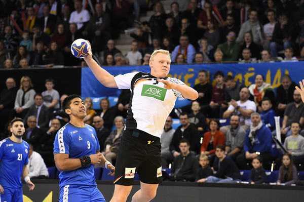 Patrick Wiencek (gegen Chile) - Handball WM 2017 Frankreich: Deutschland trifft auf Saudi-Arabien - Foto: France Handball