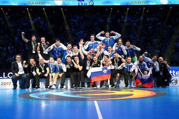 "Handball WM 2017 Bronze: Slowenien mit ""Wunder-Wahnsinns-Aufholjagd"" gegen Kroatien - Foto: France Handball"