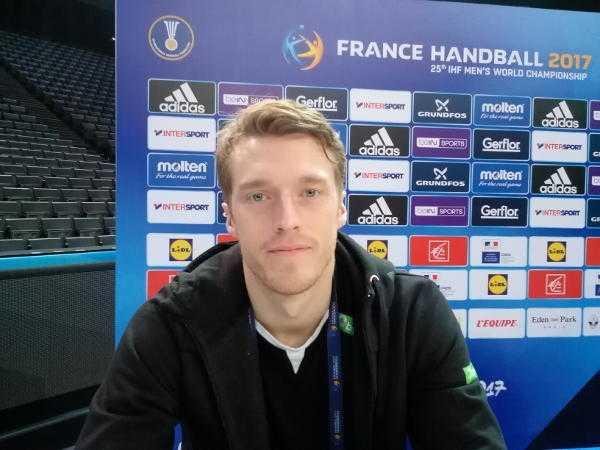 Handball WM 2017 Video: Kristian Björnsen (Norwegen) im SPORT4FINAL-Interview - Foto: SPORT4FINAL