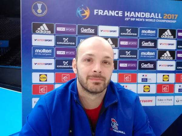 Handball WM 2017 Video: Vincent Gerard (Frankreich) im SPORT4FINAL-Interview - Foto: SPORT4FINAL
