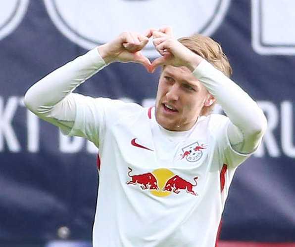 Deutsche Bundesliga, RasenBallsport Leipzig vs. 1. FC Köln - Emil Forsberg (RB Leipzig) - Foto: GEPA pictures/Kerstin Kummer