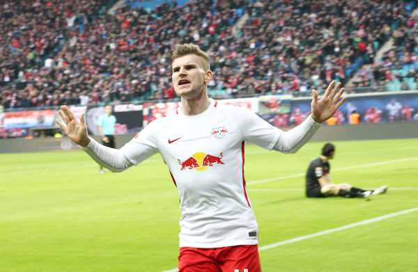 Deutsche Bundesliga, RasenBallsport Leipzig vs. 1. FC Köln - Timo Werner (RB Leipzig) - Foto: GEPA pictures/Kerstin Kummer