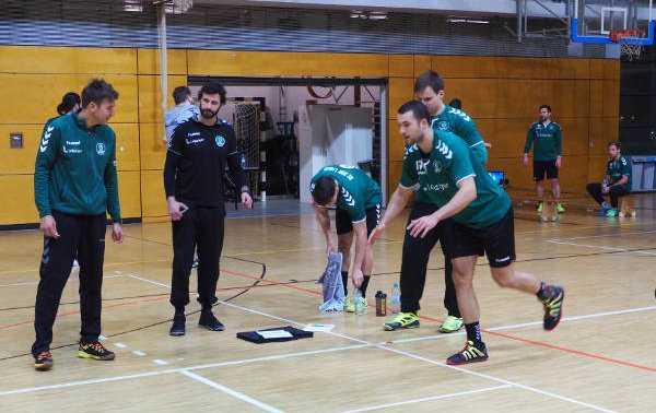 Bastian Roscheck - SC DHfK Leipzig mit Leistungsdiagnostik und guten Testwerten - Foto: SC DHfK Leipzig