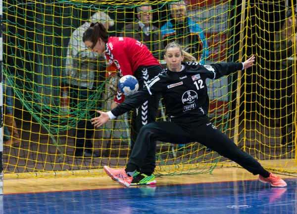 HC Leipzig empfängt Katja Kramarczyk mit Bayer Leverkusen - Foto: Ralf Kardes