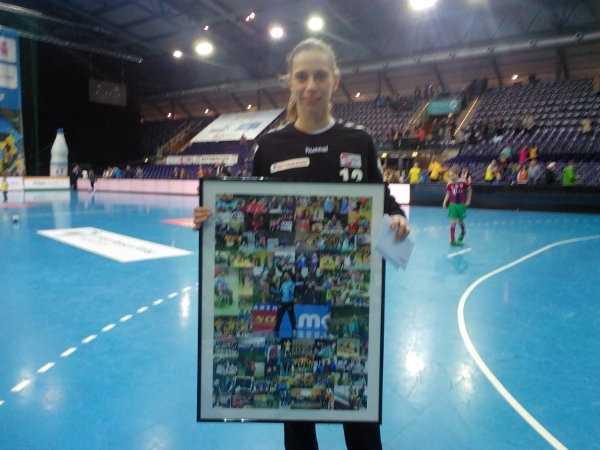 Katja Kramarczyk - HC Leipzig bezwang Bayer Leverkusen. Katja Kramarczyk verabschiedet - Foto: SPORT4FINAL
